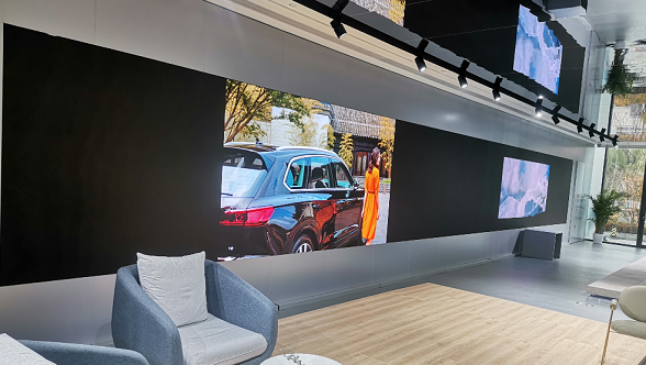 After Mercedes-Benz and BMW, Volkswagen Also Chooses Unilumin LED Display!