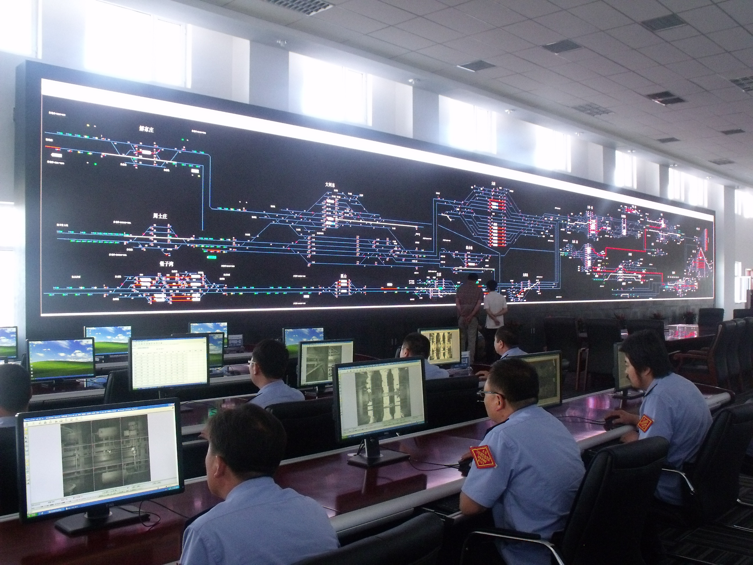 Command center in Datong, Shanxi
