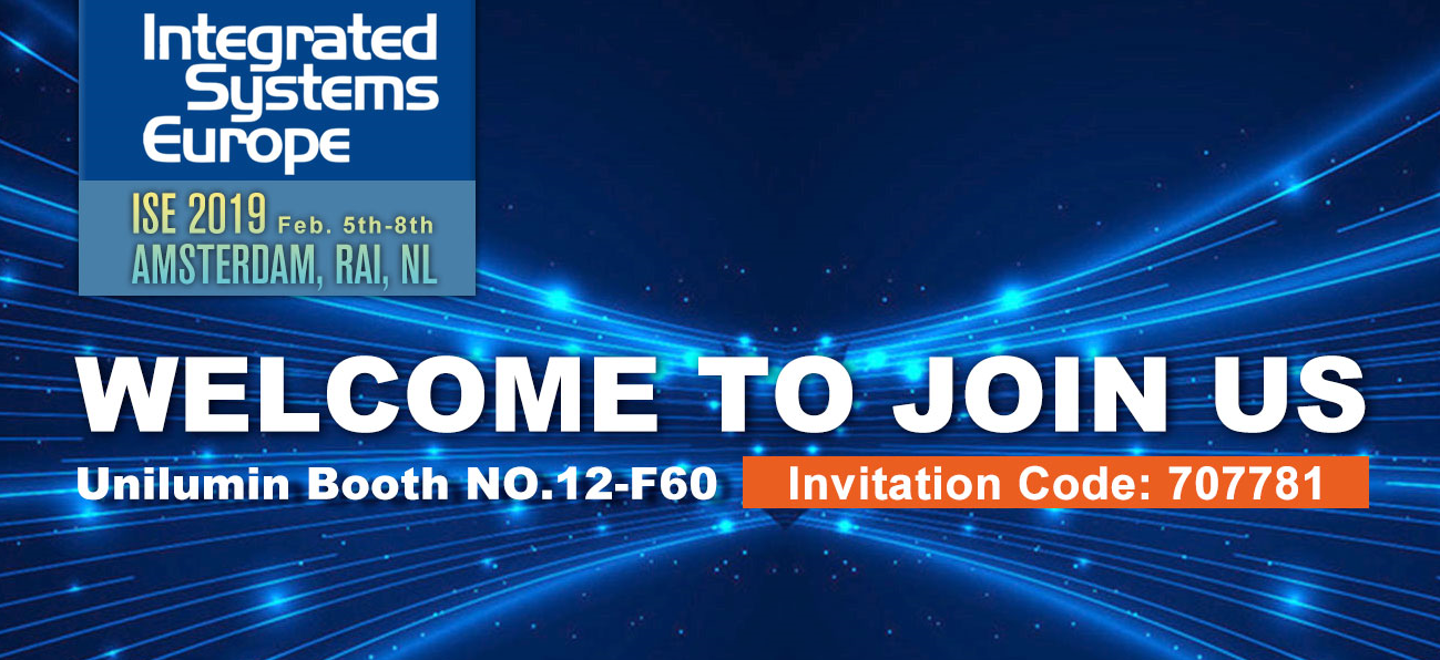 Are You Ready? The Biggest-Ever ISE 2019 Is Coming!