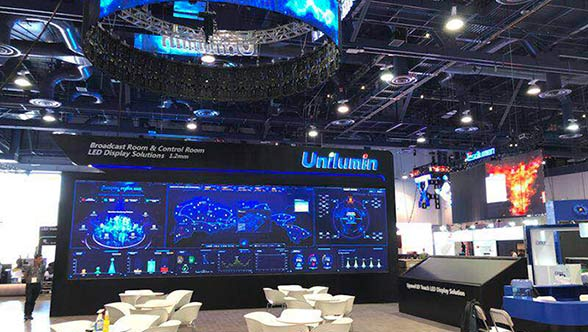 Technology Craze in InfoComm 2018 by Unilumin