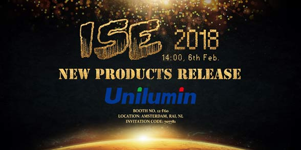 JOIN US at ISE 2018