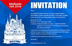 Unilumin is all set to raise-the-bar at ISR